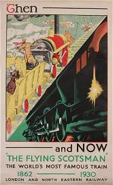 """189: A R Thomson (1895-1979) Then and Now, """"The Flying"""