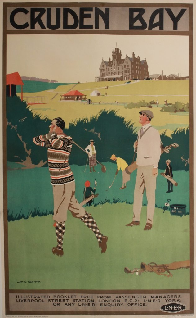 209: H G Gawthorn (Henry George 1871-1941) Cruden Bay,