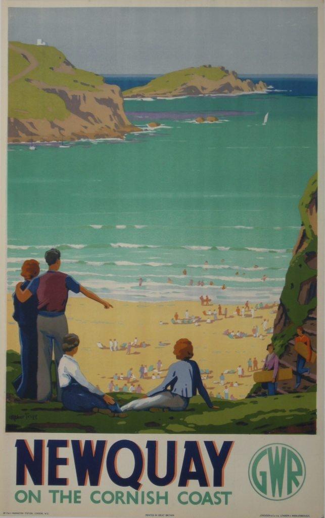 218: Herbert Alker Tripp (1883-1954) Newquay, original