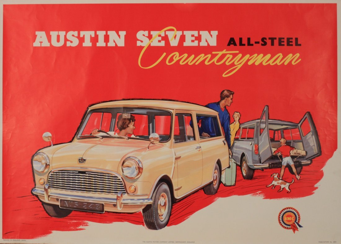 Anon Austin Seven All-Steel Countryman, original poster