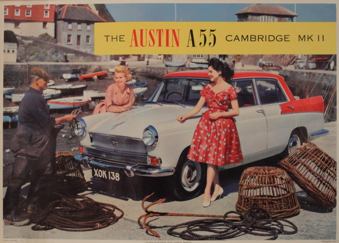 The Austin A55 Cambridge Mk II, original colour photogr