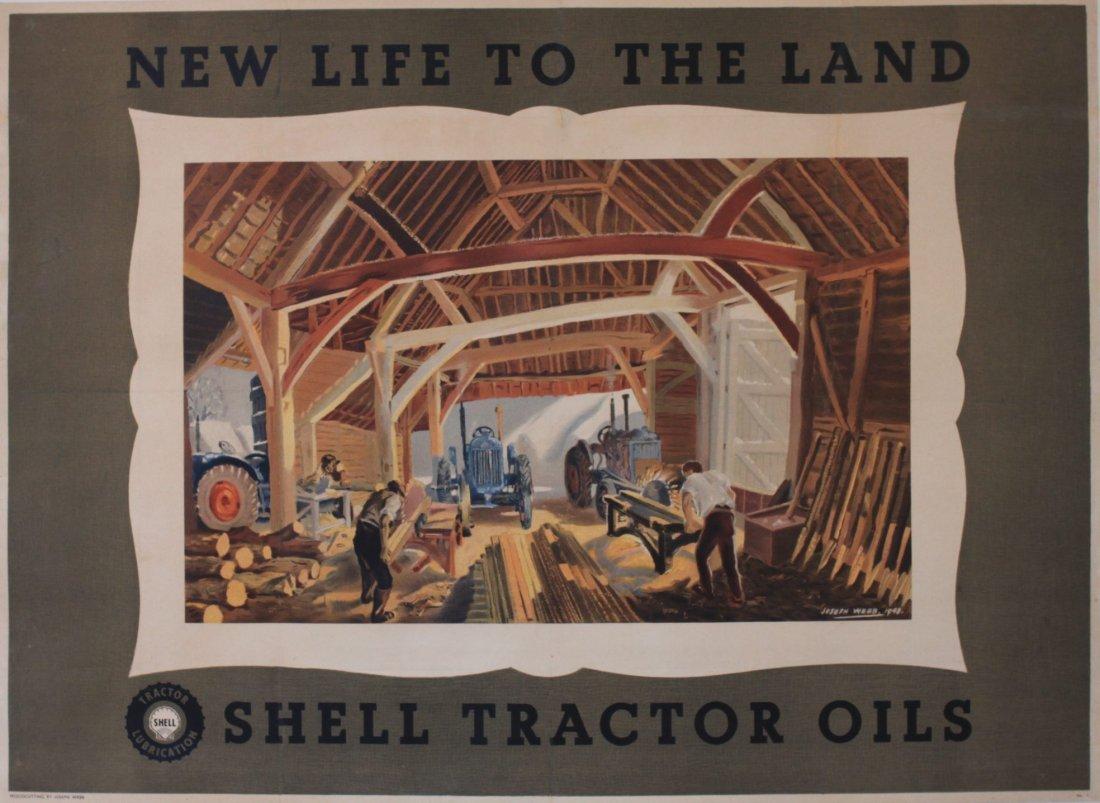 Joseph Webb (1908-1962) Woodcutting, New Life to the La