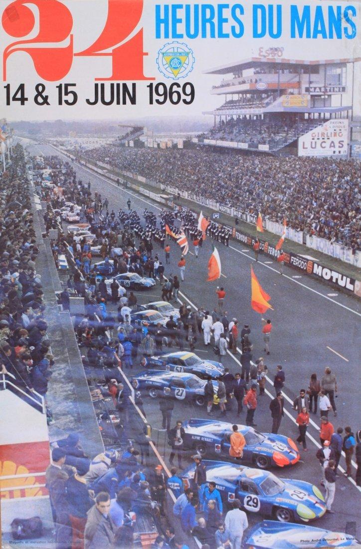 Andre Delourmel 24 Heures du Mans 14 7 15 Juin 1969, or