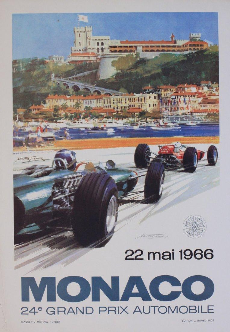 Michael Turner (born 1934) Monaco 1966, 24e Grand Prix