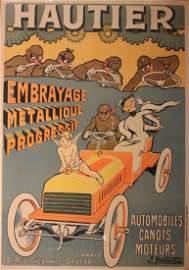 Ernest Montaut (1879-1090) Hautier Automobiles Canots M