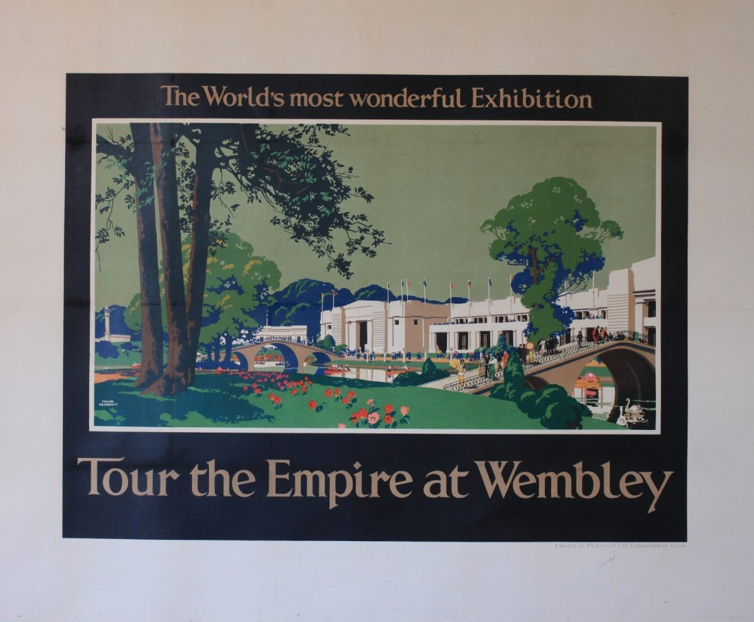 Frank Newbould (1887-1951) Tour the Empire at Wembley,