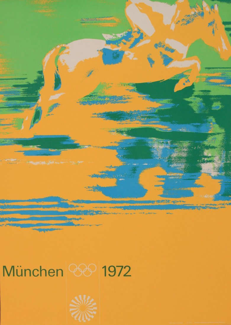 Olympics Munchen 1972, Show Jumping, photographic
