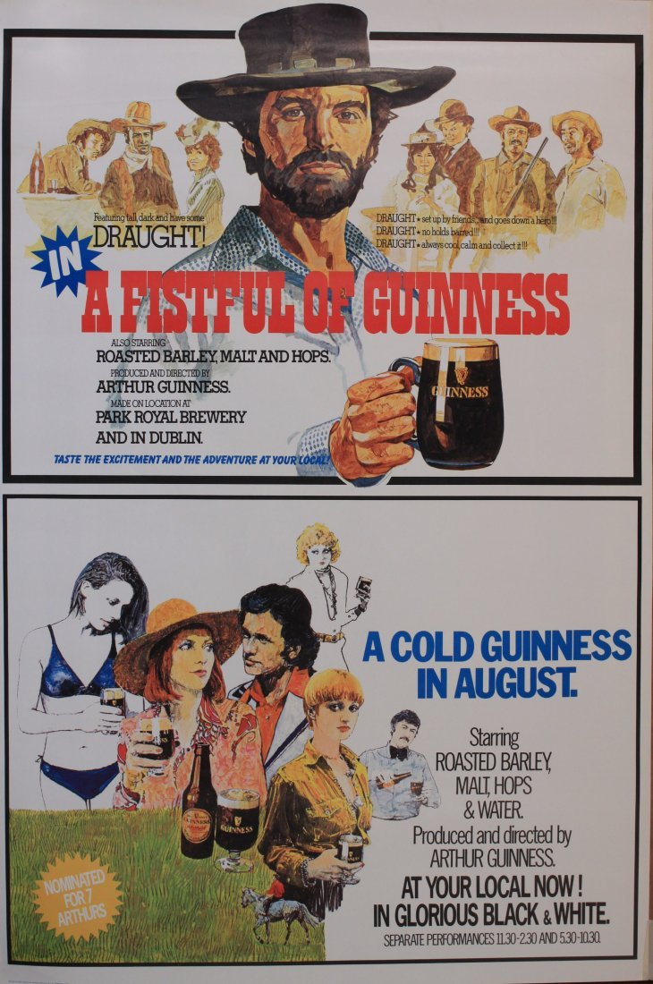 A Fistful of Guinness and A Cold Guinness in August,