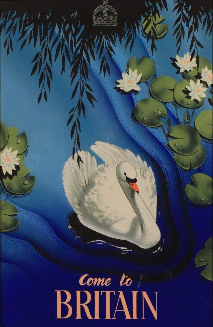 Daphne Padden (1927-2009) Come to Britain, original