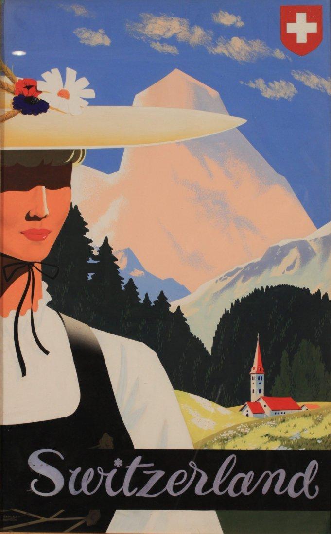 Daphne Padden (1927-2009) Switzerland, original design