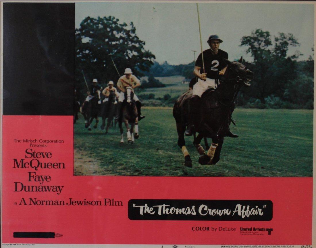 Movie Lobby Card |The Thomas Crown Affair| starring