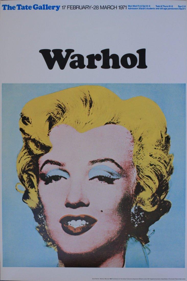 Warhol, Marilyn Monroe 1964, The Tate Gallery 17