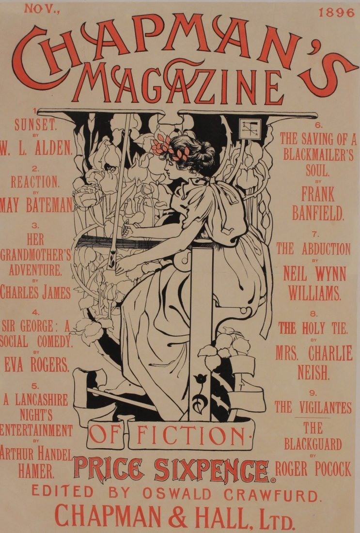 Anon Chapman's Magazine, original poster 1896 - 72 x 49