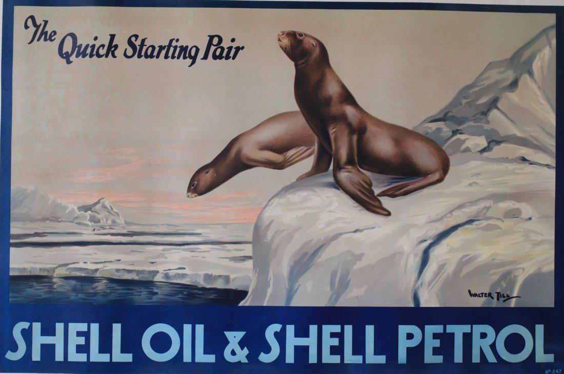 Walter Till (Irish fl. 1930s) Shell Oil Shell Petrol,