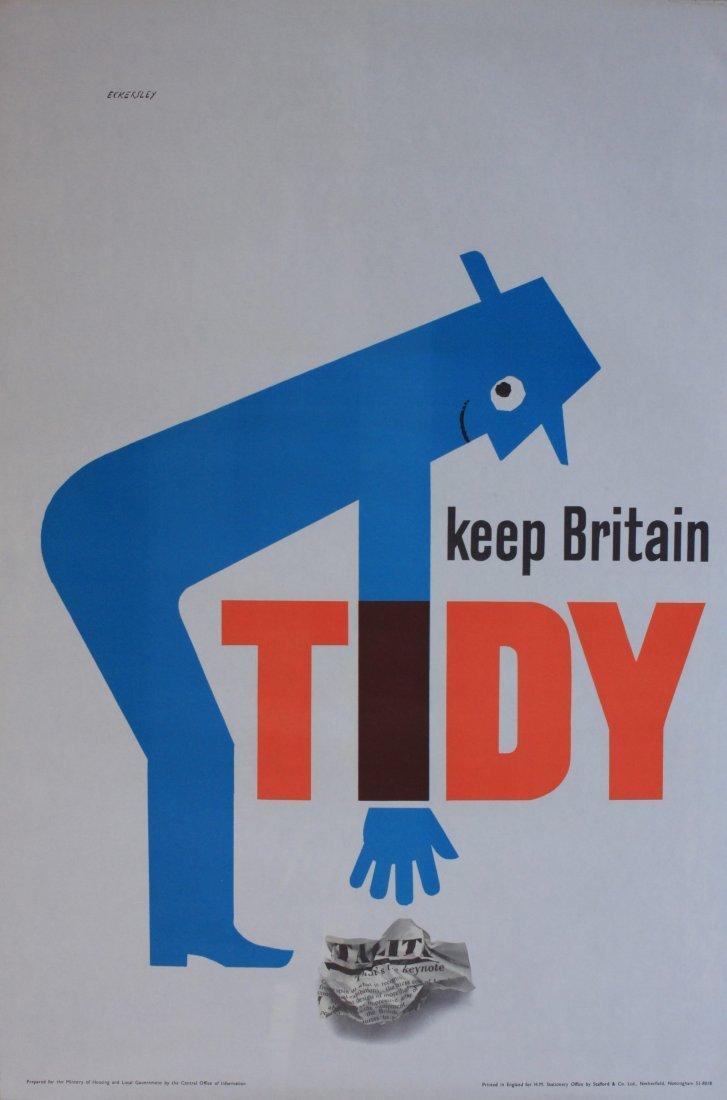 Eckersley (Tom 1914-1979) Keep Britain Tidy, original p
