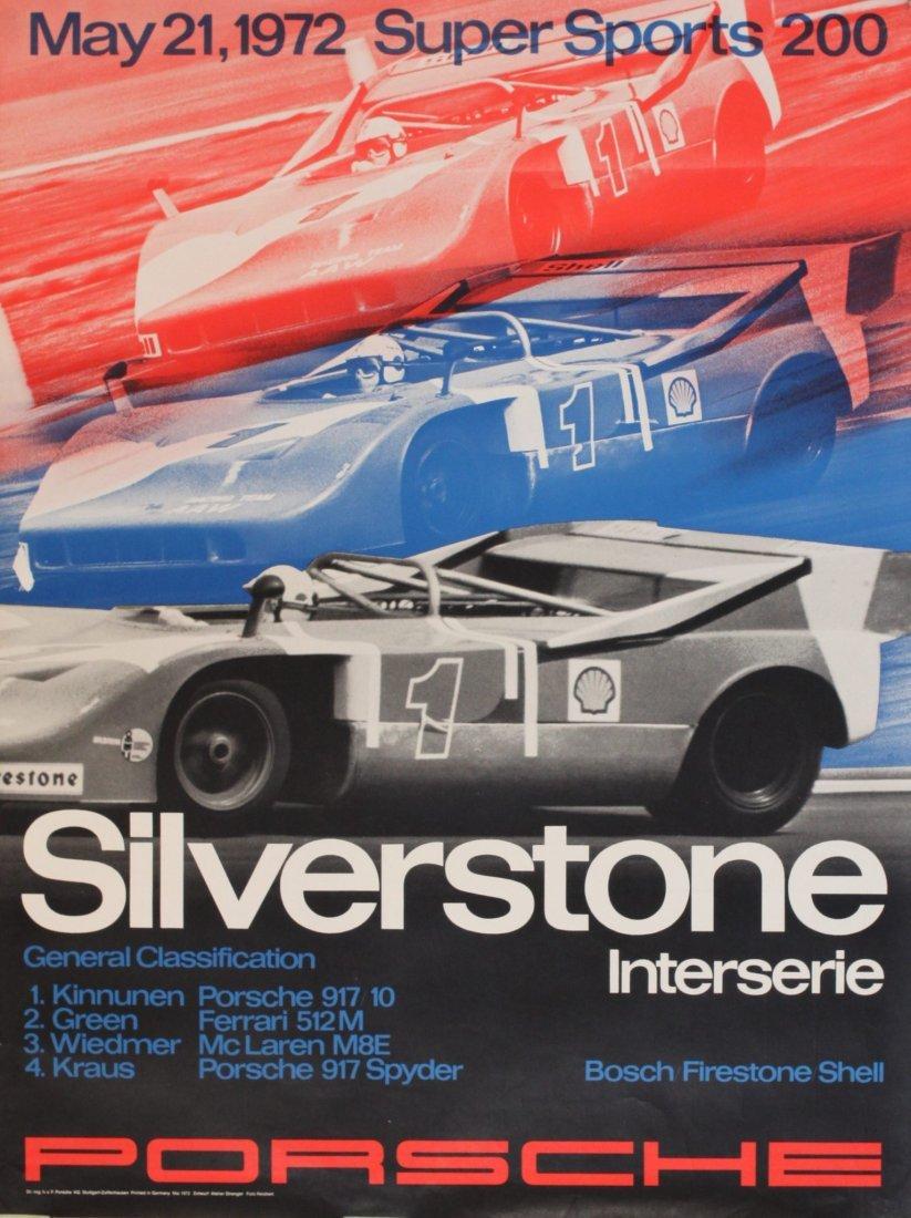 Porsche Factory Posters 1970-1973
