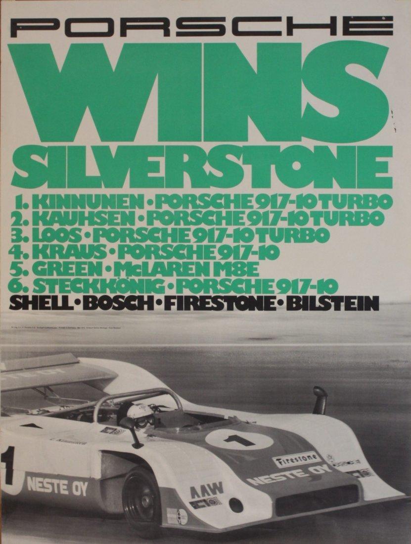 Porsche Factory Posters 1970-1974