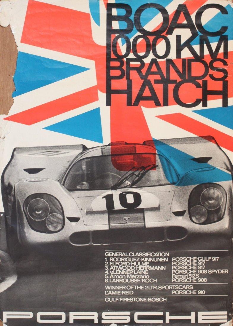 Porsche Factory Posters 1970-1975