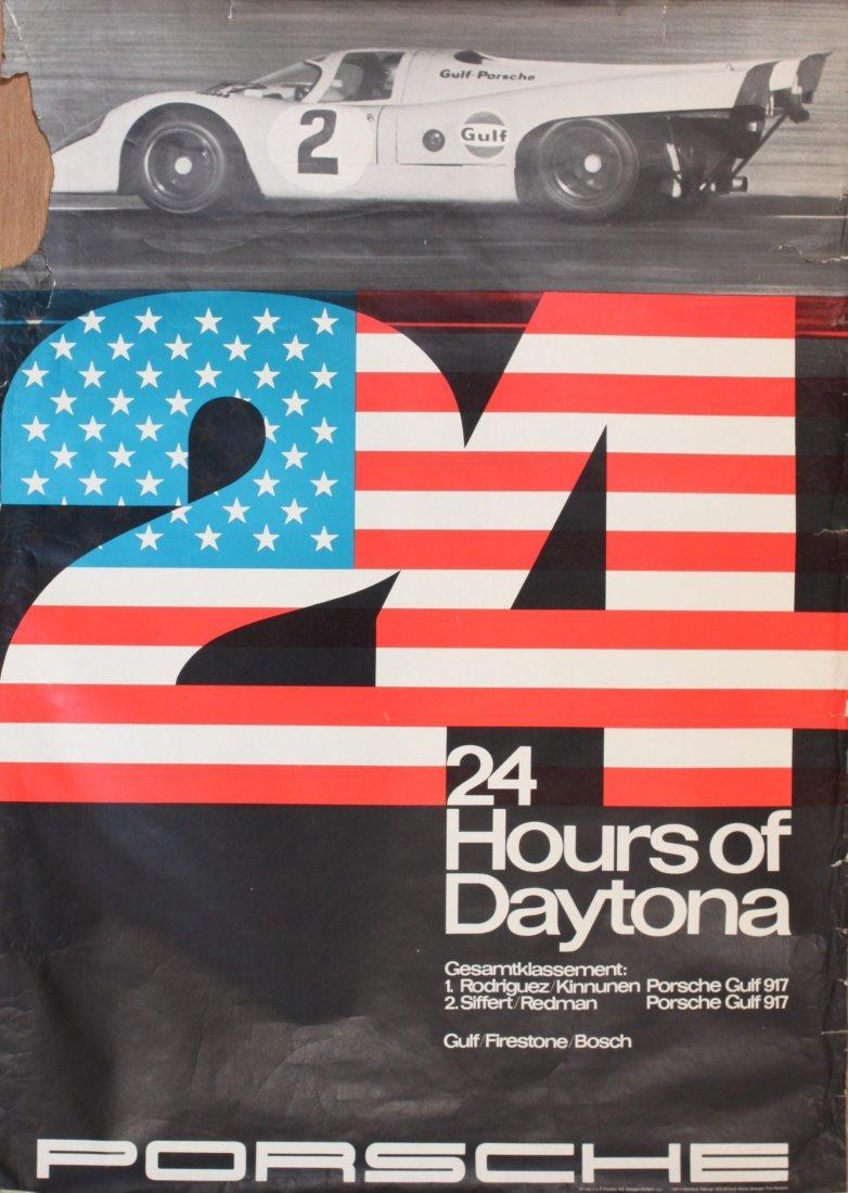 Porsche Factory Posters 1970-1976