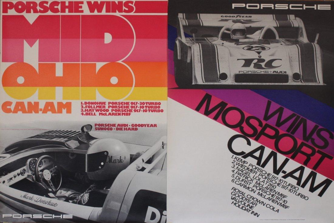 Porsche Factory Posters 1970-1977