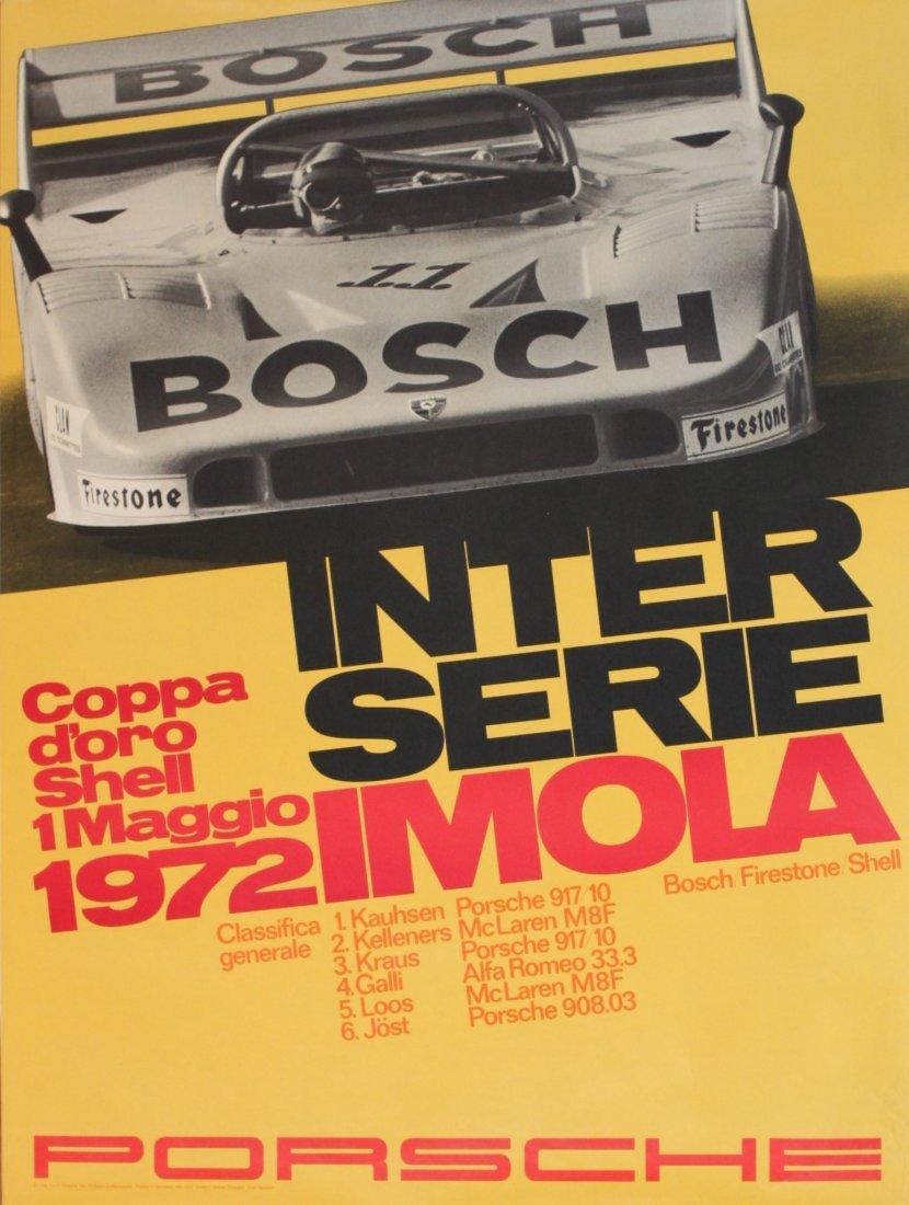 Porsche Factory Posters 1970-1978