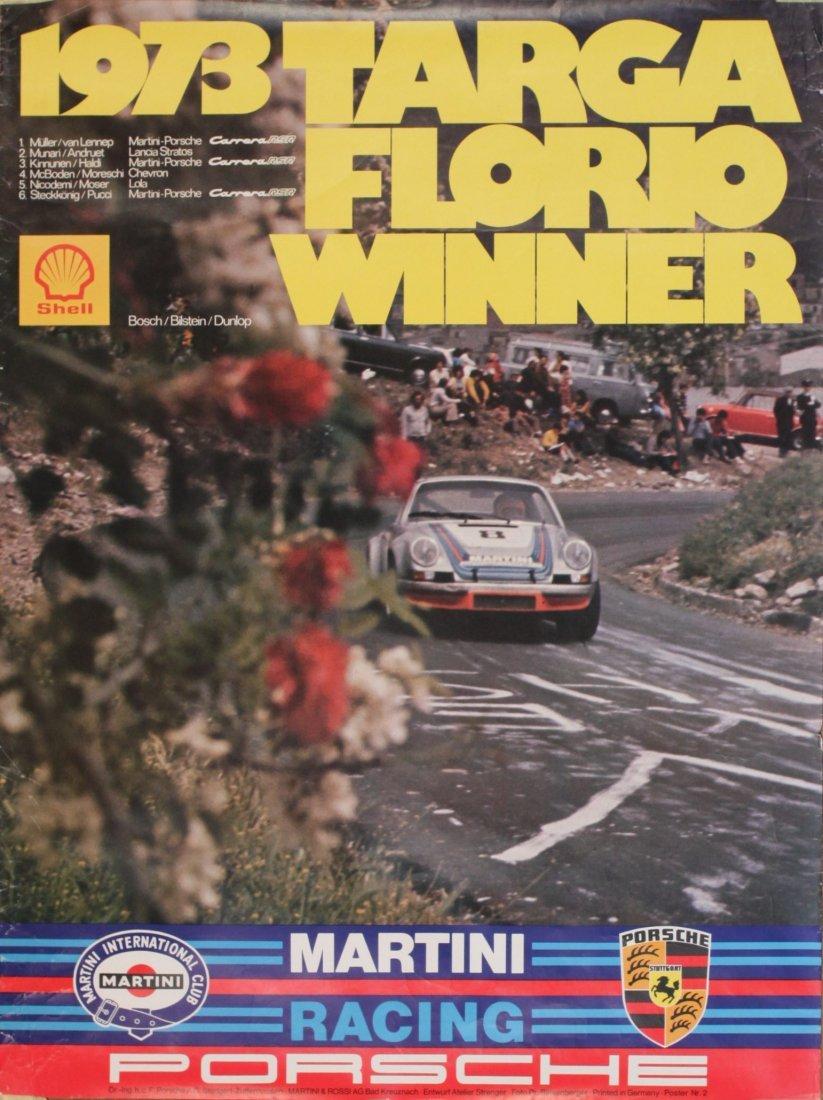 Porsche Factory Posters 1970-1980