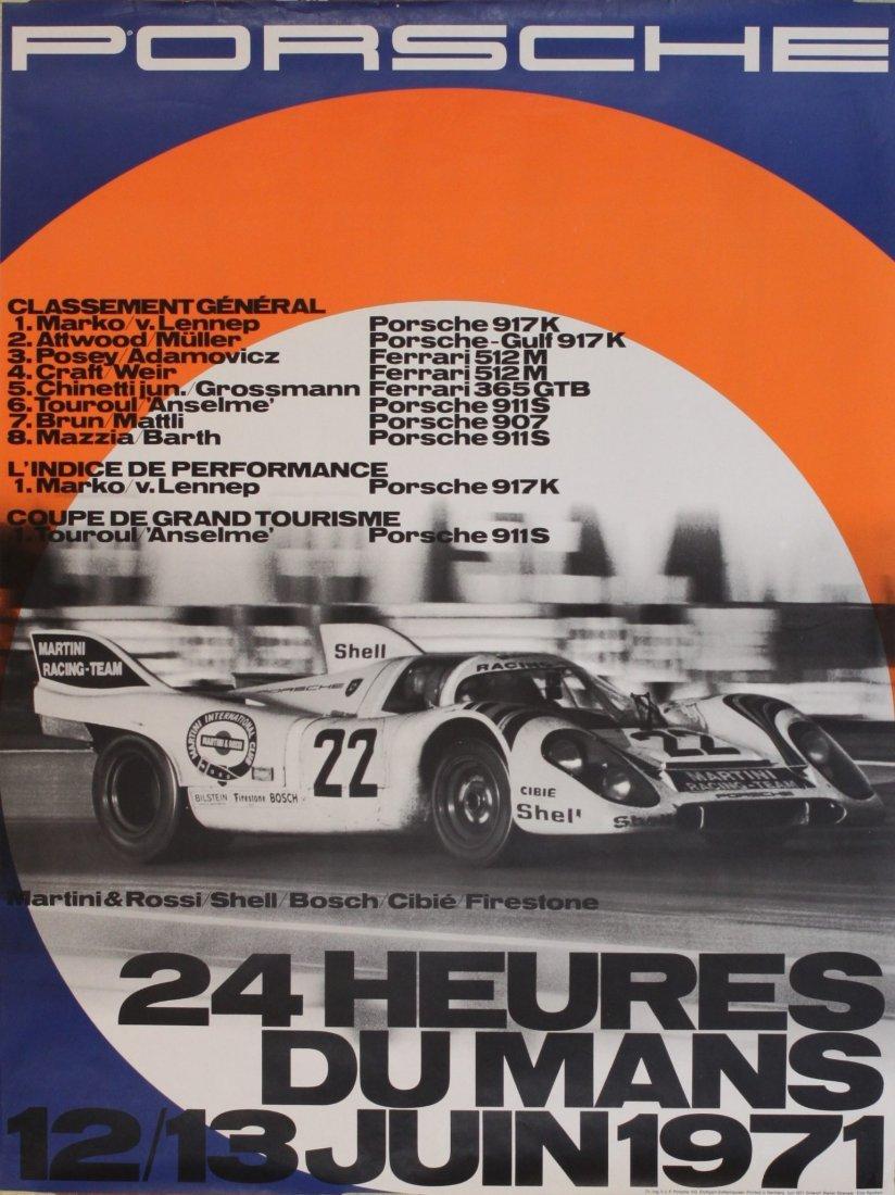 Porsche Factory Posters 1970-1981