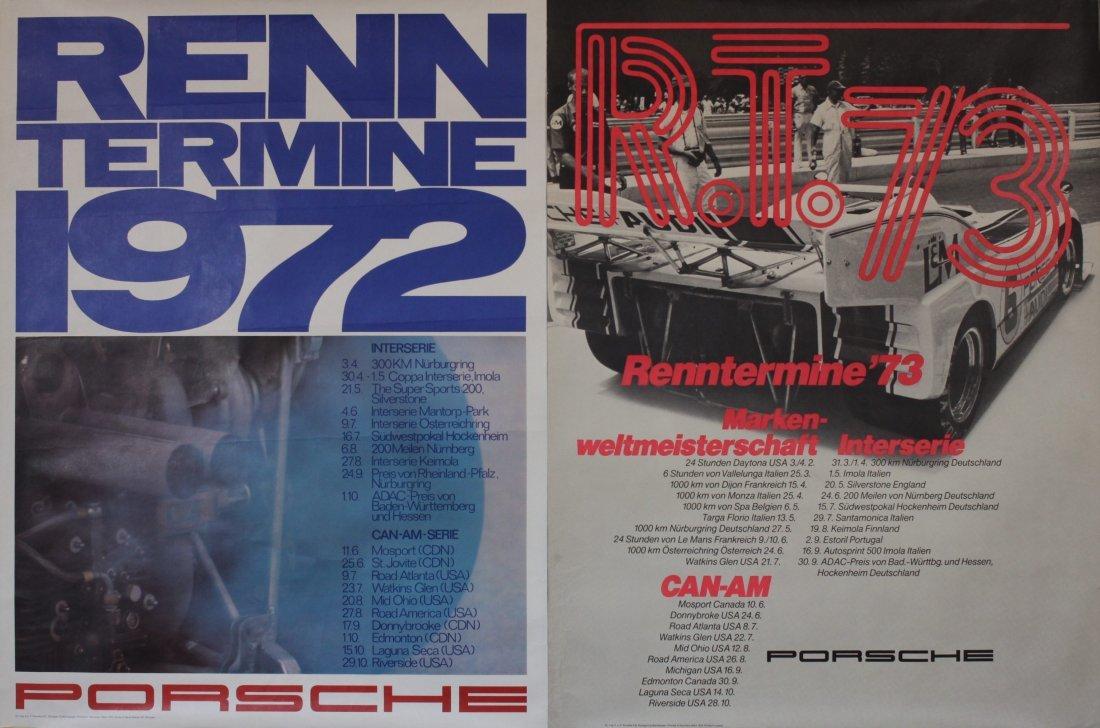 Porsche Factory Posters 1970-1983