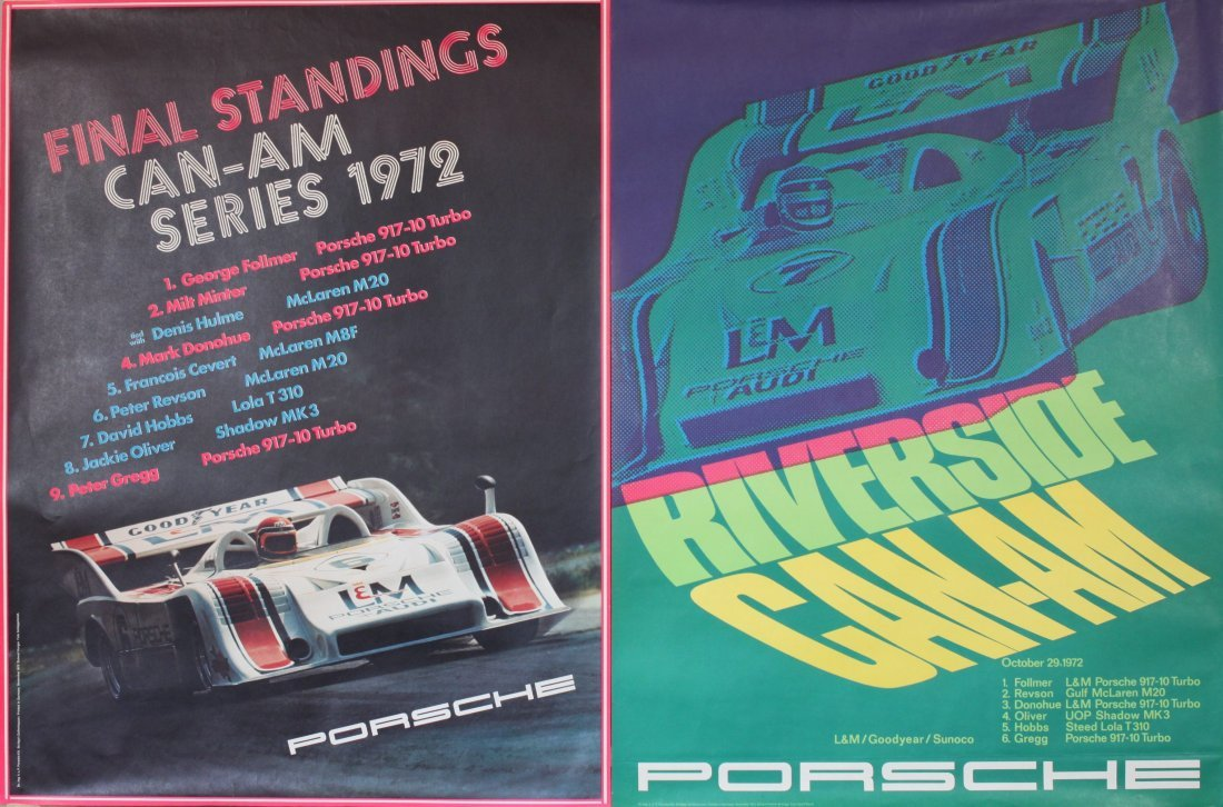 Porsche Factory Posters 1970-1984