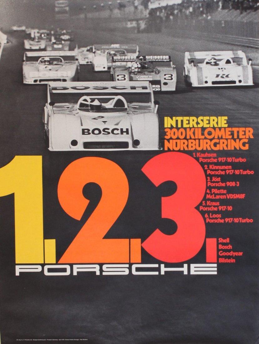 Porsche Factory Posters 1970-1985