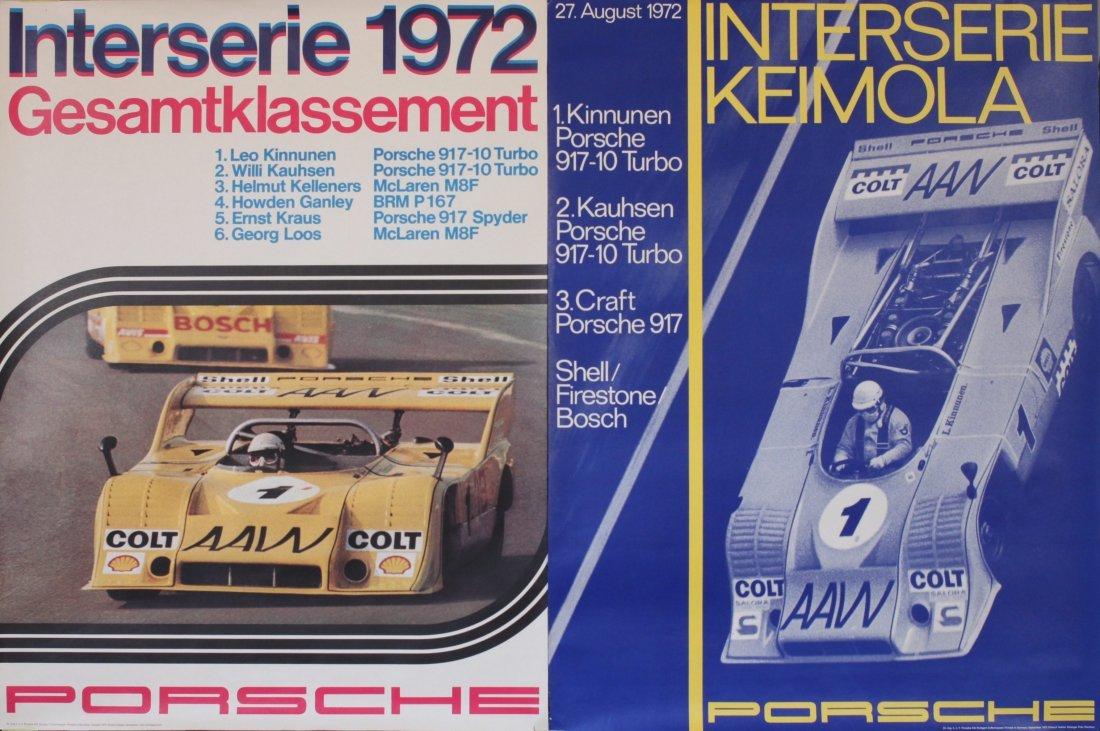 Porsche Factory Memorobilia 1970 to 1973