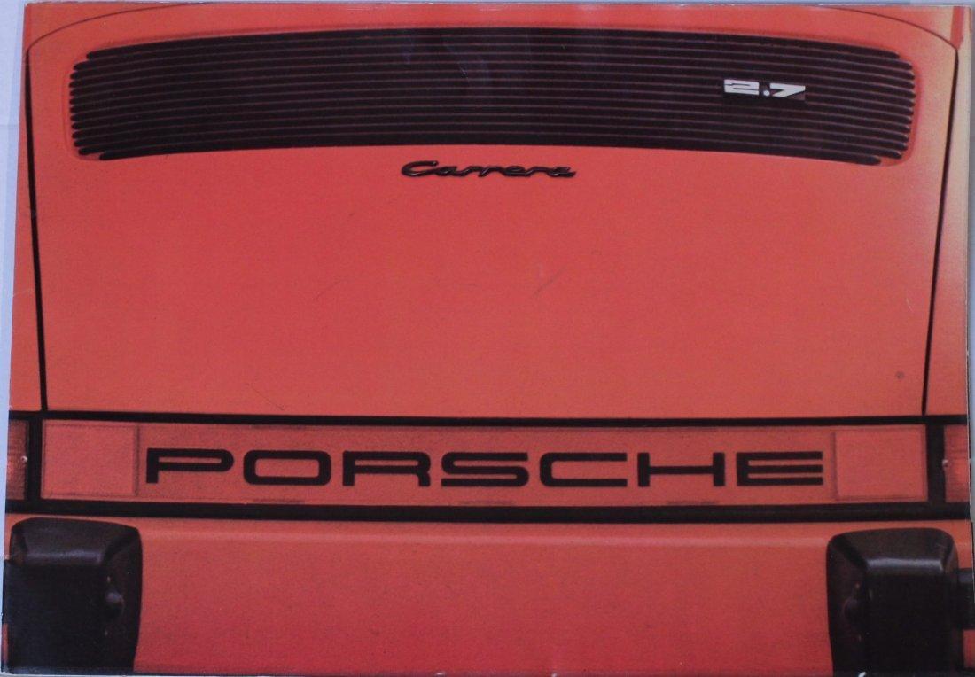 Porsche Factory Memorobilia 1970 to 1974