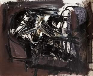 "ANTONIO SAURA - ""Autorretrato 54"", 1958"