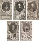 "JACOBUS HOUBRAKEN - ""Retratos históricos"""