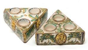Especiero cerámica Talavera XVII-XVIII
