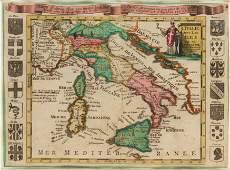 ELIAS BAECK Map of Italy