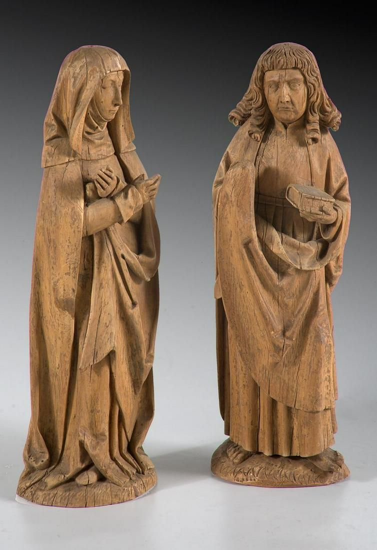 GERMAN SCHOOL S.XV / S.XVI The Virgin and Saint John