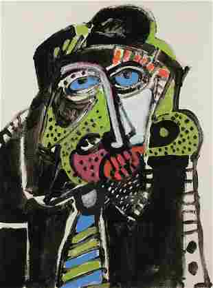 """PEDRO ANTONIO SAORIN BOSCH/BOX 1944 / . """"Portrait of"""