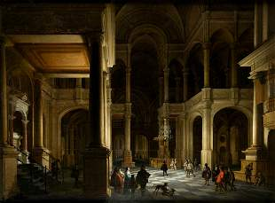 """ANTHONIE DELORME 1610 / 1673 """"Interior of the"""