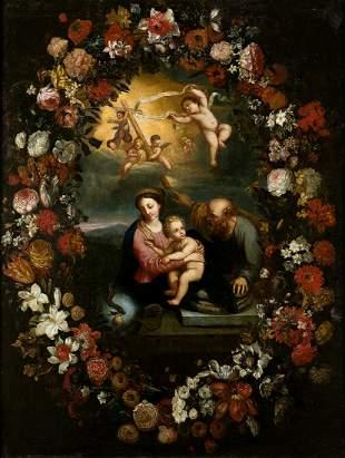 "FRENCH SCHOOL Last third 17th century / . ""Flower"