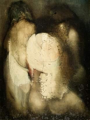 "JUAN VALENZUELA Y CHACON 1932 / . ""Three o'clock"", 1971"