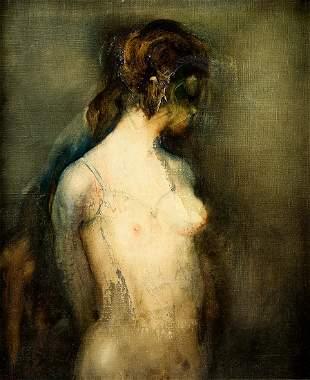 "JUAN VALENZUELA Y CHACON 1932 / . ""In Petticoats"", 1972"