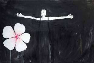 """SUSY GOMEZ 1964 / . """"Blood Flow I"""", 2004"""