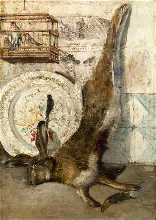 """JOSE MARIA RODRIGUEZ DE LOSADA (1826 / 1896) """"Still"""