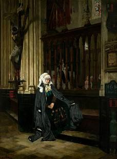 "JAMES TISSOT (1836 / 1902) ""Marguerite Ã"
