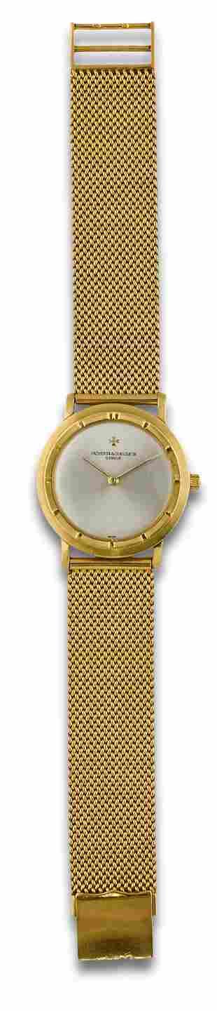 WATCH VACHERON CONSTANTIN GOLD 368666 CERT