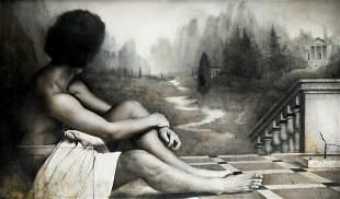 """JOSE MANUEL BALLESTER (1960 / .) """"Male Nude"""", 1986"""