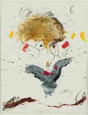 "MANUEL  BEA (1934 / 1997) ""Faces"", 1993"