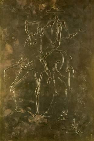 "SALVADOR DALI Y DOMENECH (1904 / 1990) ""The horse"
