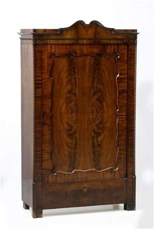 Biedermeier single-door cupboard